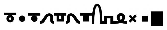 TXT101 Black Font LOWERCASE