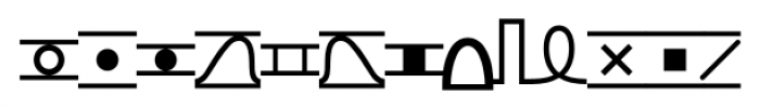 TXT101 Regular Font UPPERCASE