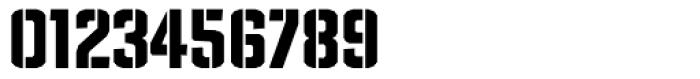 TX Manifesto Stencil Font OTHER CHARS