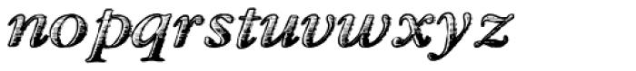 TXT Antique Italic Font LOWERCASE