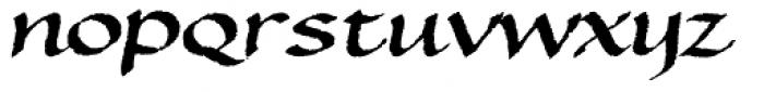 TXT Bethlehem Font LOWERCASE