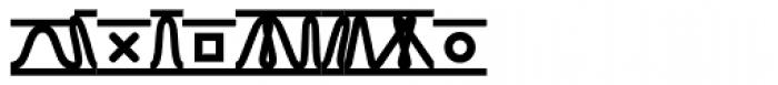 TXT Bold Font UPPERCASE