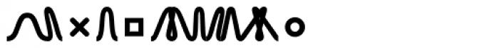 TXT Bold Font LOWERCASE