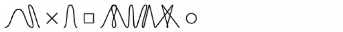 TXT Light Font LOWERCASE