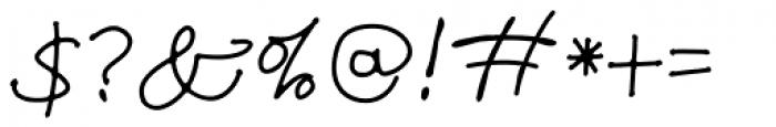 TXT Modern Mom Font OTHER CHARS