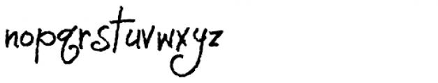TXT Monique Font LOWERCASE