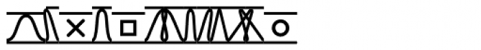 TXT Font UPPERCASE