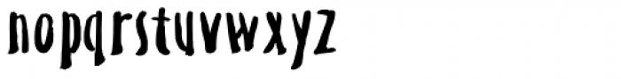 TXTAltius Font LOWERCASE