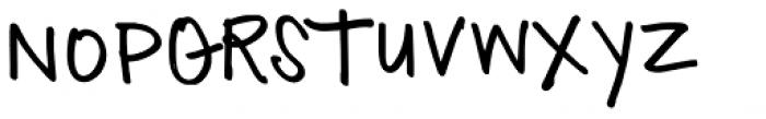 TXTAnnesia Font UPPERCASE