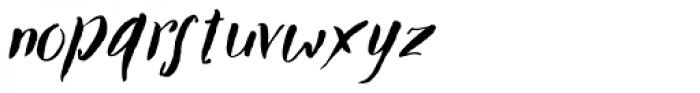 TXTBrush Script Font LOWERCASE