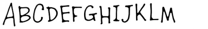 TXTHoopla Font UPPERCASE