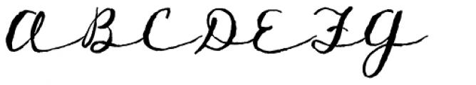 TXTLong Hand Font UPPERCASE