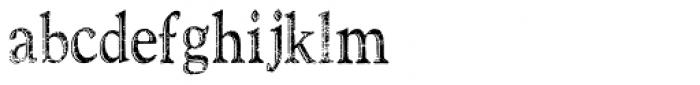 TXTSanta Font Font LOWERCASE