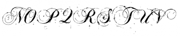 TXTSloppy Script Font UPPERCASE