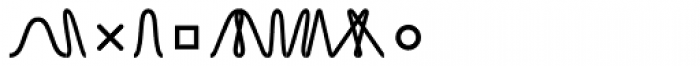 TXT Font LOWERCASE