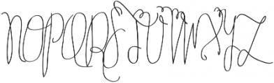 Tycho otf (100) Font UPPERCASE