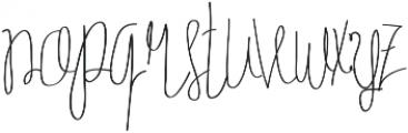 Tycho otf (100) Font LOWERCASE