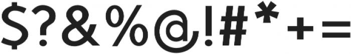 TyfoonSans Bold otf (700) Font OTHER CHARS
