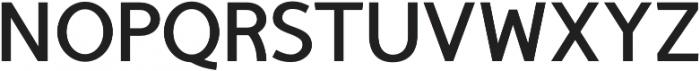 TyfoonSans Bold otf (700) Font UPPERCASE