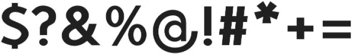 TyfoonSans ExtraBold otf (700) Font OTHER CHARS