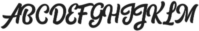Tylerandco otf (400) Font UPPERCASE