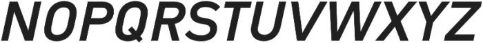 Type-36 ExtraBold Italic otf (700) Font UPPERCASE