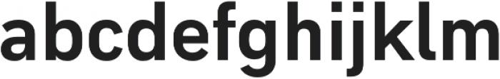 Type-36 ExtraBold otf (700) Font LOWERCASE