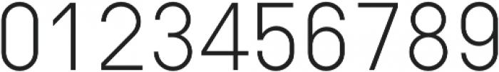 Type-36 Light otf (300) Font OTHER CHARS