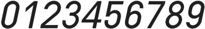Type-36 SemiBold Italic otf (600) Font OTHER CHARS