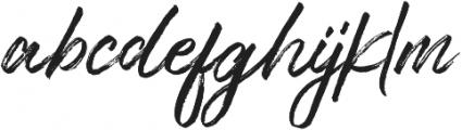 Typehill otf (400) Font LOWERCASE
