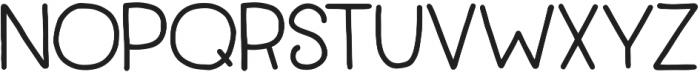 TypesetTrio Punchbowl Bold otf (700) Font UPPERCASE
