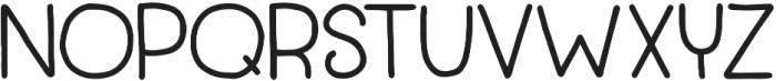 TypesetTrio Punchbowl Bold otf (700) Font LOWERCASE