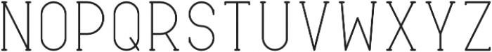 Typical Bold otf (700) Font UPPERCASE