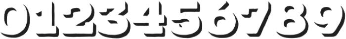 Typnic Headline Slab Shadow otf (400) Font OTHER CHARS