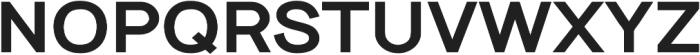 Tyros Pro Heavy otf (800) Font UPPERCASE