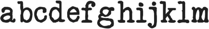 typrighter otf (400) Font LOWERCASE