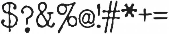 typrighterV1 otf (400) Font OTHER CHARS