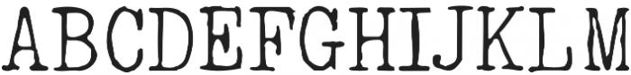 typrighterV1 otf (400) Font UPPERCASE
