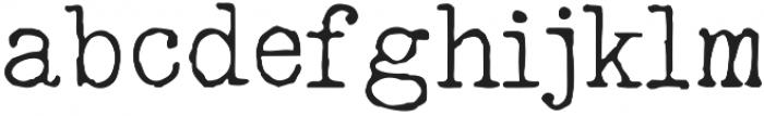 typrighterV1 otf (400) Font LOWERCASE