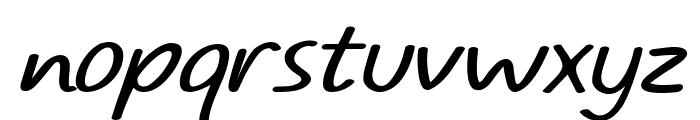 TYPO COMICS Light Italic DEMO Font LOWERCASE