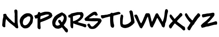 Tylerwolf Font UPPERCASE