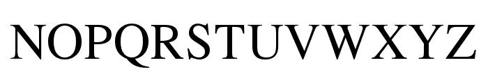 TymesLittleCaps Font LOWERCASE