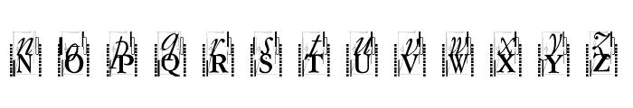 TypOasisInitials Font UPPERCASE