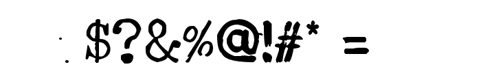 Type-Ra Font OTHER CHARS