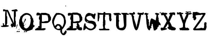 Type-Ra Font UPPERCASE
