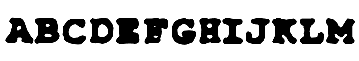 Type-Simple Font UPPERCASE