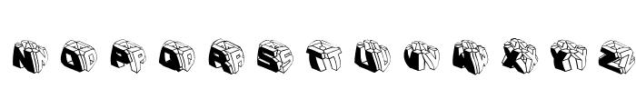 TypeBoxesRoundedTwo Font LOWERCASE