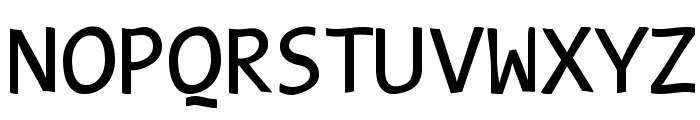 TypeWritersSubstitute Font UPPERCASE