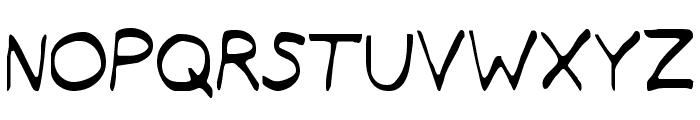 Typeecanoe Light Font UPPERCASE