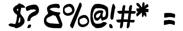 Typeecanoe Font OTHER CHARS